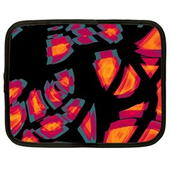 Hot, hot, hot Netbook Case (Large)