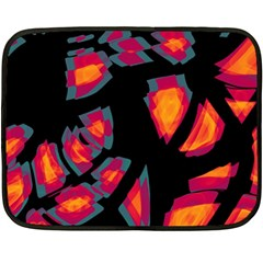 Hot, hot, hot Double Sided Fleece Blanket (Mini)