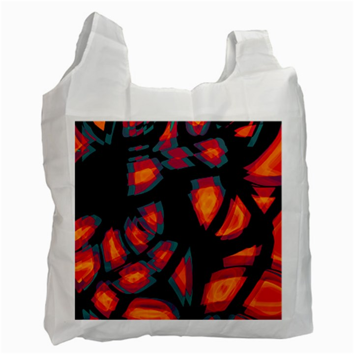 Hot, hot, hot Recycle Bag (One Side)