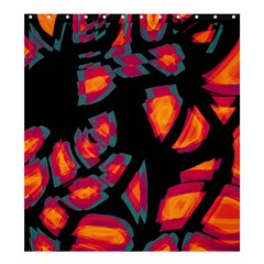 Hot, hot, hot Shower Curtain 66  x 72  (Large)