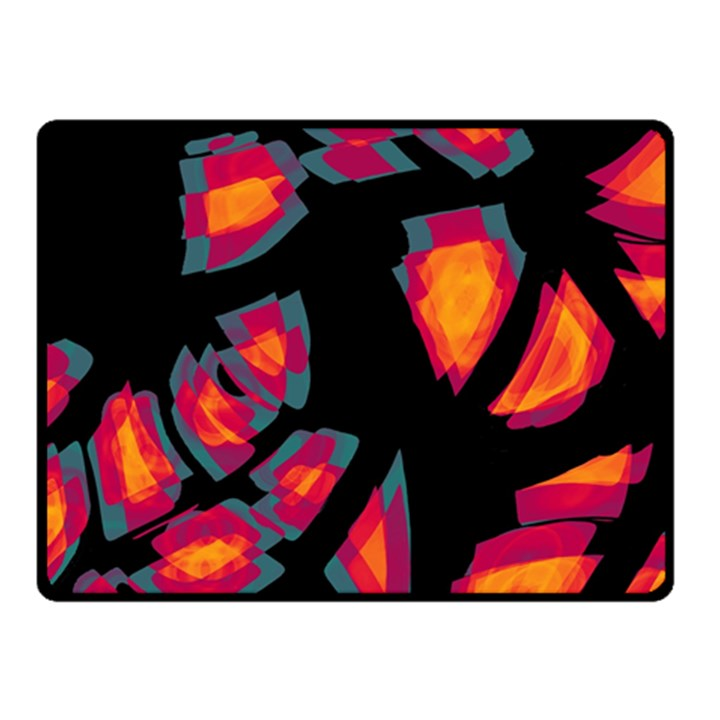 Hot, hot, hot Fleece Blanket (Small)