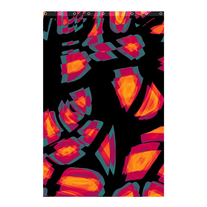 Hot, hot, hot Shower Curtain 48  x 72  (Small)