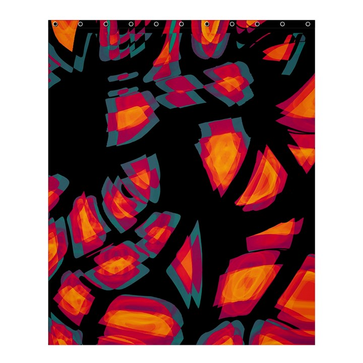Hot, hot, hot Shower Curtain 60  x 72  (Medium)