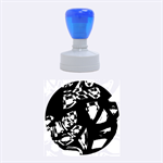 Hot, hot, hot Rubber Round Stamps (Medium) 1.5 x1.5  Stamp