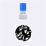 Hot, hot, hot Rubber Round Stamps (Small) 1.12 x1.12  Stamp