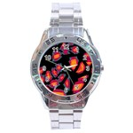 Hot, hot, hot Stainless Steel Analogue Watch Front