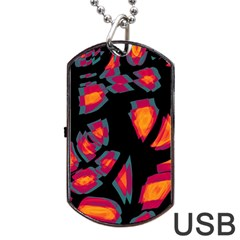 Hot, hot, hot Dog Tag USB Flash (One Side)