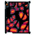 Hot, hot, hot Apple iPad 2 Case (Black) Front