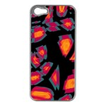 Hot, hot, hot Apple iPhone 5 Case (Silver) Front