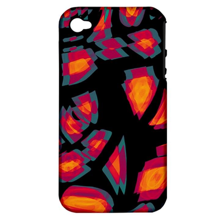 Hot, hot, hot Apple iPhone 4/4S Hardshell Case (PC+Silicone)