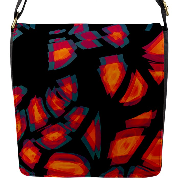 Hot, hot, hot Flap Messenger Bag (S)