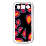 Hot, hot, hot Samsung Galaxy S3 Back Case (White) Front