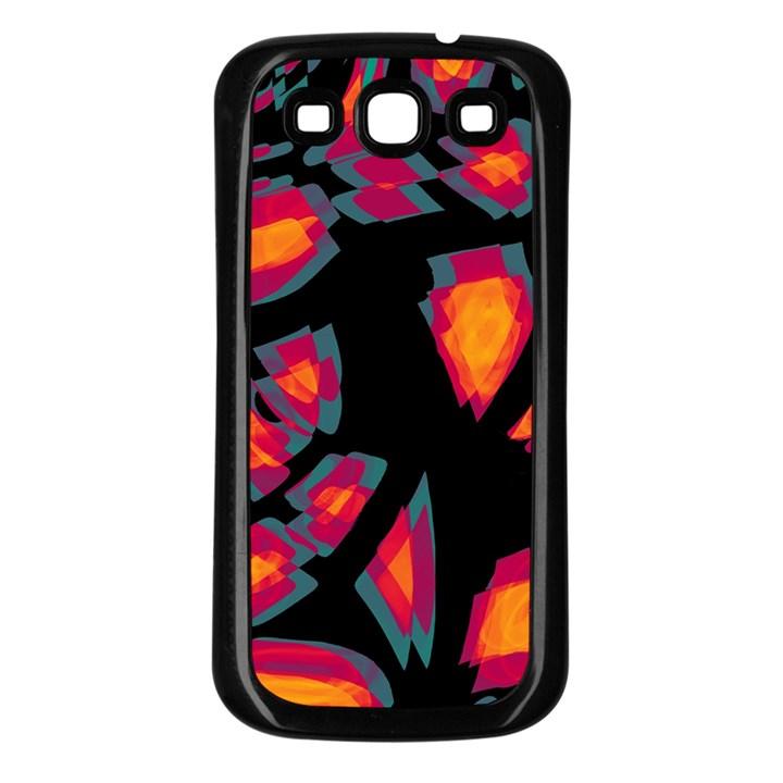 Hot, hot, hot Samsung Galaxy S3 Back Case (Black)