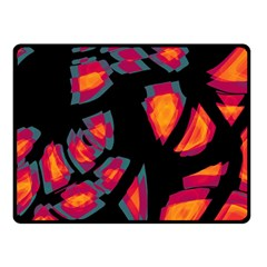 Hot, hot, hot Double Sided Fleece Blanket (Small)
