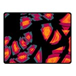 Hot, hot, hot Double Sided Fleece Blanket (Small)  50 x40 Blanket Back