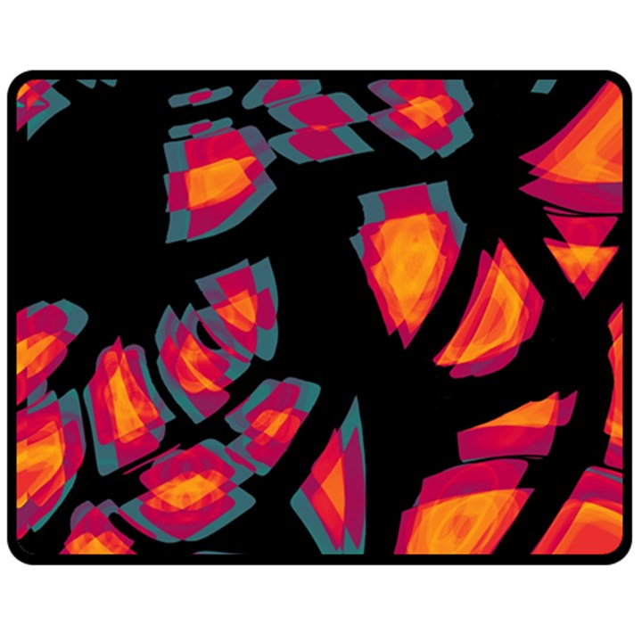 Hot, hot, hot Double Sided Fleece Blanket (Medium)