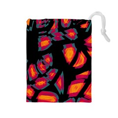 Hot, Hot, Hot Drawstring Pouches (large)