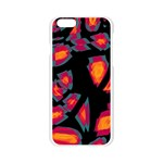 Hot, hot, hot Apple Seamless iPhone 6/6S Case (Transparent) Front