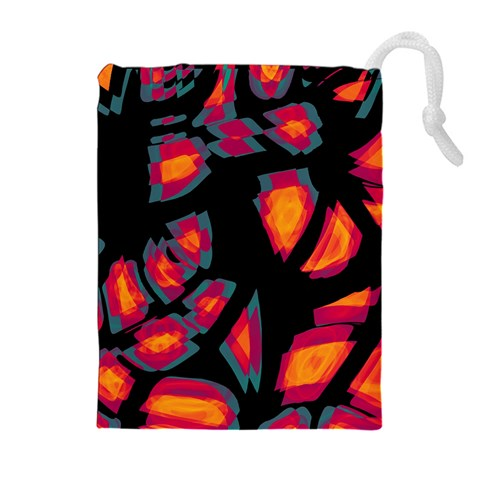 Hot, hot, hot Drawstring Pouches (Extra Large)