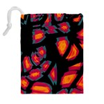 Hot, hot, hot Drawstring Pouches (Extra Large) Back
