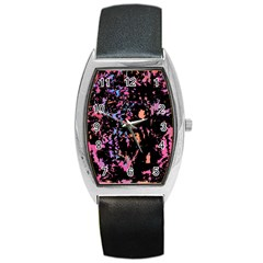 Put some colors... Barrel Style Metal Watch