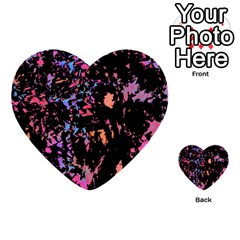 Put some colors... Multi-purpose Cards (Heart)