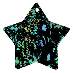 Colorful magic Star Ornament (Two Sides)