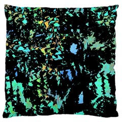 Colorful magic Large Flano Cushion Case (Two Sides)