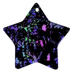 Think blue Ornament (Star)