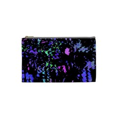 Think blue Cosmetic Bag (Small)