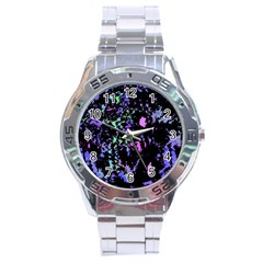 Think blue Stainless Steel Analogue Watch