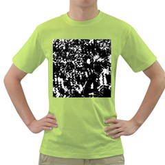 Black and white miracle Green T-Shirt