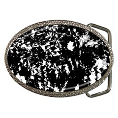 Black and white miracle Belt Buckles