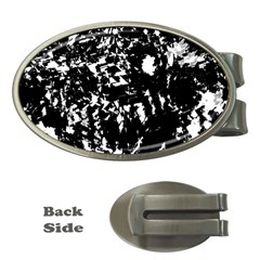 Black and white miracle Money Clips (Oval)