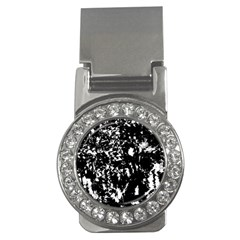 Black and white miracle Money Clips (CZ)