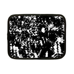 Black and white miracle Netbook Case (Small)