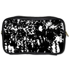 Black and white miracle Toiletries Bags 2-Side