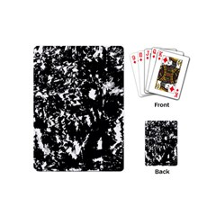 Black and white miracle Playing Cards (Mini)