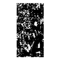 Black and white miracle Shower Curtain 36  x 72  (Stall)