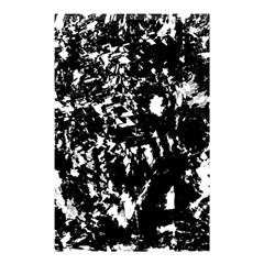 Black and white miracle Shower Curtain 48  x 72  (Small)