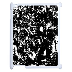 Black and white miracle Apple iPad 2 Case (White)
