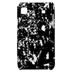 Black and white miracle Samsung Galaxy S i9000 Hardshell Case