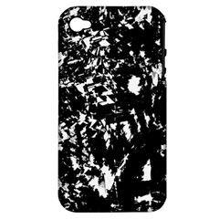 Black and white miracle Apple iPhone 4/4S Hardshell Case (PC+Silicone)