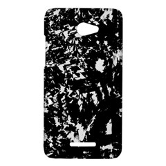 Black and white miracle HTC Butterfly X920E Hardshell Case