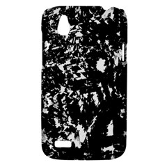 Black and white miracle HTC Desire V (T328W) Hardshell Case