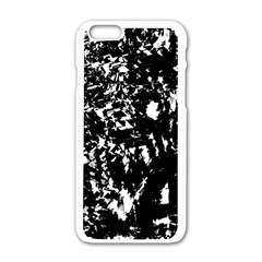 Black and white miracle Apple iPhone 6/6S White Enamel Case