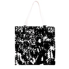 Black and white miracle Grocery Light Tote Bag