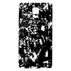Black and white miracle Galaxy Note 4 Back Case