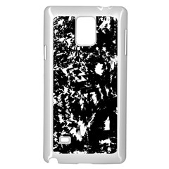Black and white miracle Samsung Galaxy Note 4 Case (White)