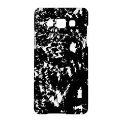 Black and white miracle Samsung Galaxy A5 Hardshell Case